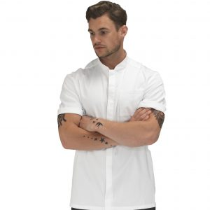 Le Chef Prep Jacket  – Informal and Contemporary Design – Black or White – Sizes XS-2XL
